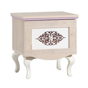 Bax 1 Drawer Nightstand by Harriet Bee