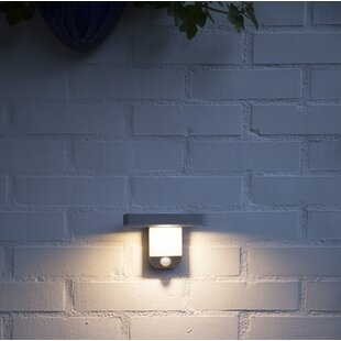 Lois LED Outdoor Sconce With Motion Sensor By Sol 72 Outdoor