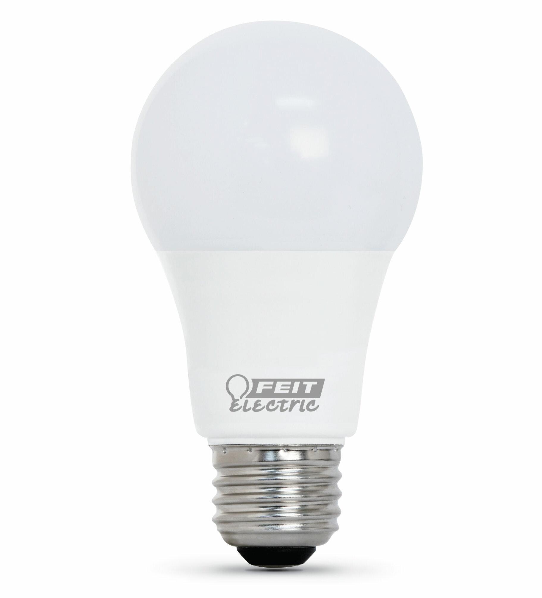 Feit Electric 60 Watt Equivalent A19 Led Non Dimmable Light Bulb E26 Medium Standard Base Wayfair