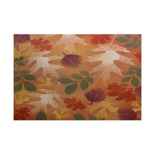 Brookfield Rust Indoor/Outdoor Area Rug