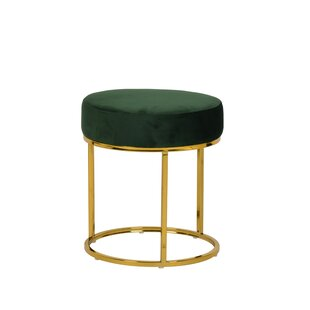 Bronwood Vanity Stool by Everly Quinn