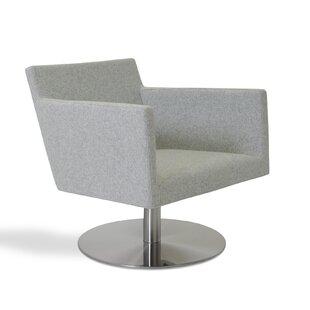 sohoConcept Harput Swivel Lounge Chair