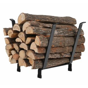 Decorative Indoor/Outdoor Firewood Log Rack By PHI VILLA