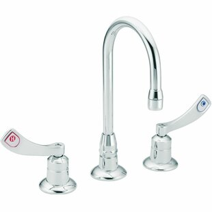 Moen Two Cold and Hot Handle Widespread Bathroom Faucet