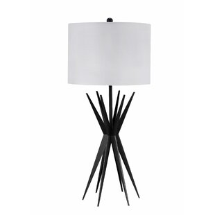 Ginsberg Spiked Metal 29 Table Lamp