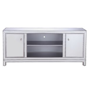Kenley Mirrored TV Stand for T..