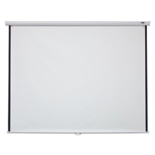 Great choice White 120 diagonal Manual Projection Screen By Elite Screens