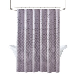 Purple Shower Curtains Youll Love Wayfair - Purple and gold shower curtain
