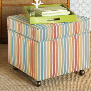 Capri Storage Ottoman by Eastern Accents