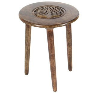 Malone Tripod End Table by Loon Peak