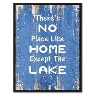 8x10 Canvas Art There/'s No Place Like Home For The Holidays Glitter