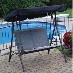 swing seat swings standing patio wayfair keyword furniture with stand free outdoor porch rohrbaugh
