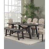 Colborne 6 Piece Solid Wood Dining Set by Laurel Foundry Modern Farmhouse