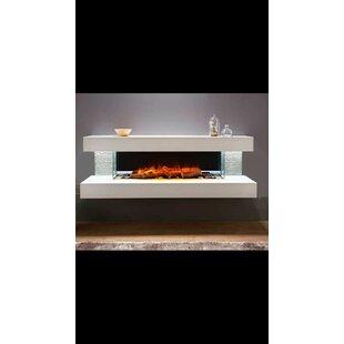 Katlyn Wall Mounted Electric Fireplace by Orren Ellis