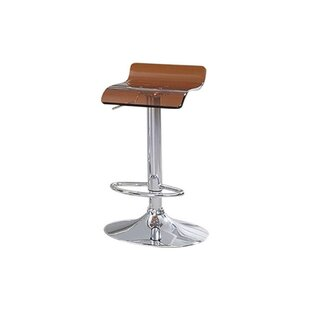 Hesiod Adjustable Height Swivel Bar Stool..