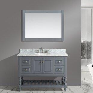 Order Mccombs 48 Single Bathroom Vanity Set with Mirror ByCharlton Home