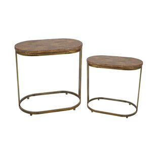 2 Piece End Table