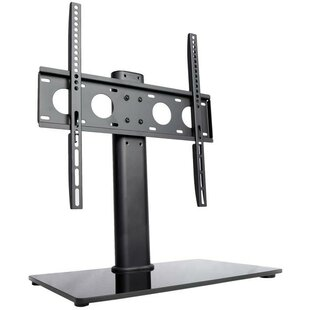 Universal Economic TV Table Top Stand with Glass Base Desktop Mount for 47