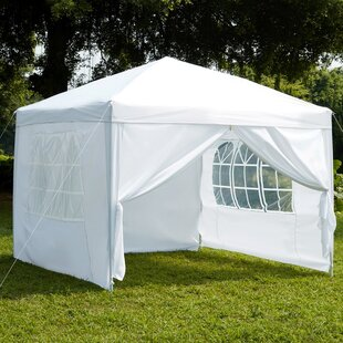 Sharp 2.5 X 2.5m Metal Pop-Up Party Tent By Sol 72 Outdoor