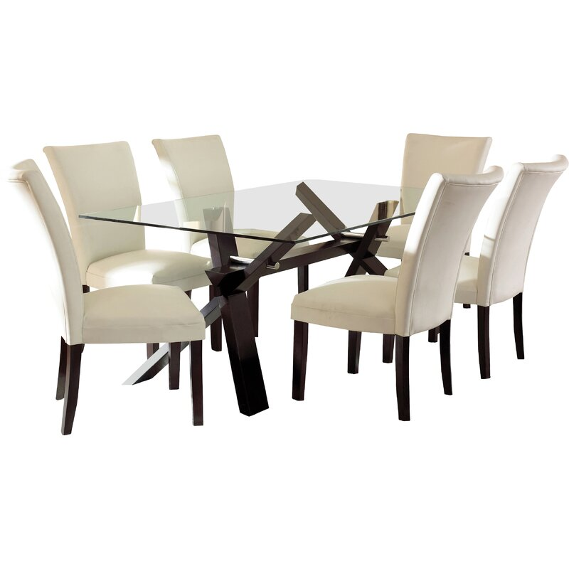 Top Rated Furniture Stores: Latitude Run Hargrave Dining Table & Reviews