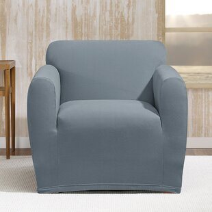 Stretch Morgan Box Cushion Armchair Slipcover