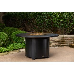 Beckwith Aluminum Propane Fire Pit Table
