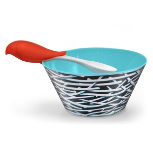 Bird Feed 2 Piece Cereal Bowl Set