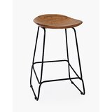 Zhenya Solid Wood 23 Short Stool (Set of 2) by Foundry Select