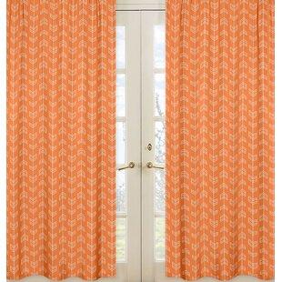 Arrow Curtain Panels Set Of 2