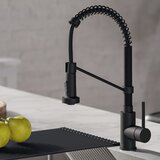 Find the Perfect Black Kitchen Faucets | Wayfair