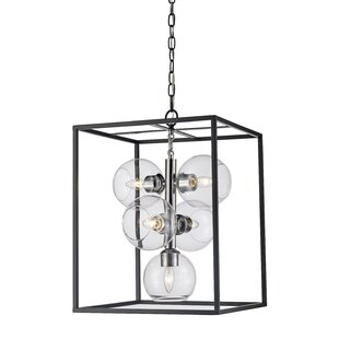 Tinley 5-Light Lantern Pendant by Ivy Bronx