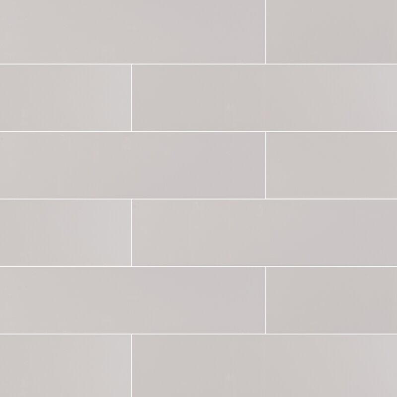 Msi 4 X 16 Ceramic Subway Tile In Glossy Wayfair