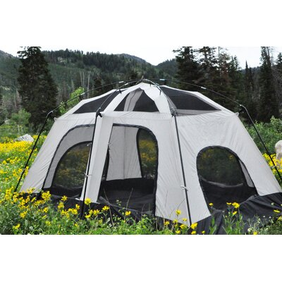 Pine Cabin 8 Person Tent  sc 1 st  Wayfair & Coleman Signature 9-Person Prairie Breeze Tent u0026 Reviews | Wayfair