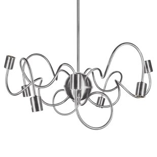Orren Ellis Debussy 8-Light Chandelier