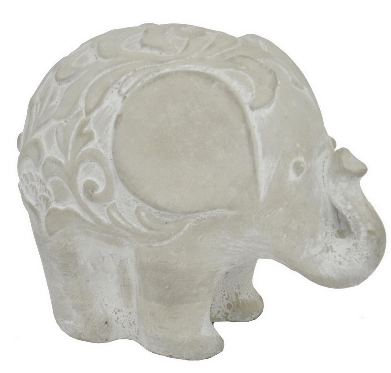 World Menagerie Schall Elephant Figurine Wayfair