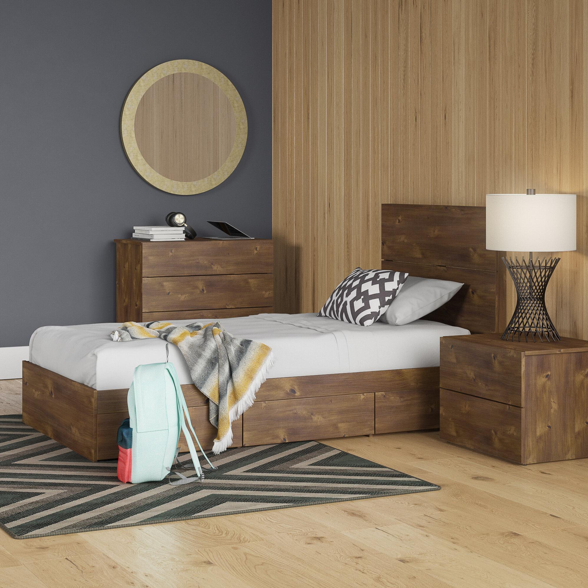 Trule Grantham Twin Platform 4 Piece Bedroom Set Reviews