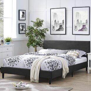 Tomaszewski Vinyl Bed Frame