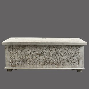 Riddell Carved Panel Trunk World Menagerie