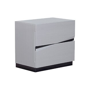 Landwehr 2 Drawer Nightstand by Orren Ellis