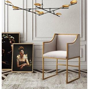 Avalon Velvet Upholstered Dining Chair by Mistana