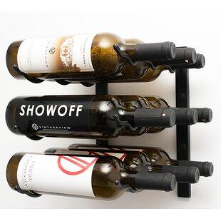 9 Bottle Wall Mounted Wine Rack By Symple Stuff