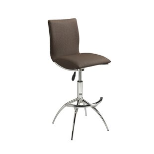 Vranduk Adjustable Height Bar Stool (Set of 2) by Orren Ellis