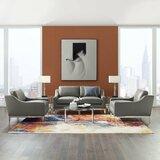 Delonge 3 Piece Living Room Set by Orren Ellis