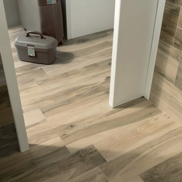 Acero 6 5 X 40 Porcelain Wood Look Tile In Light Brown