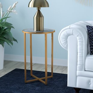 Rosette End Table by Willa Arlo Interiors