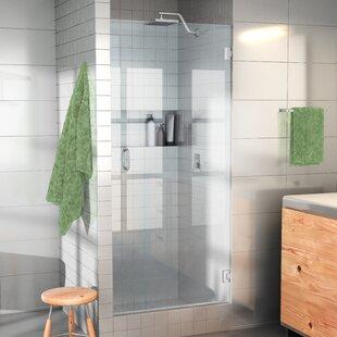 Great choice 24 x 78 Hinged Frameless Shower Door ByGlass Warehouse