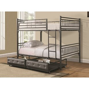 Jayme Full Bunk Configuration Bed with Drawers