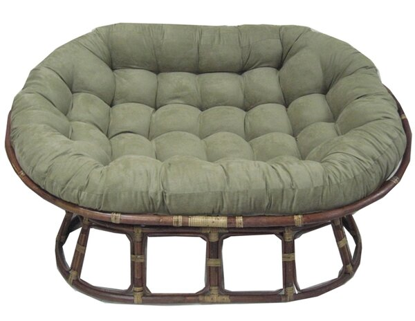 Pampasan Chair bay isle home oversize double papasan chair cushion & reviews