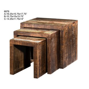 Lafayette 3 Piece Nesting Tables by Loon Peak