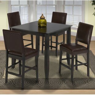 Isai 5 Piece Counter Height Dining Table Set